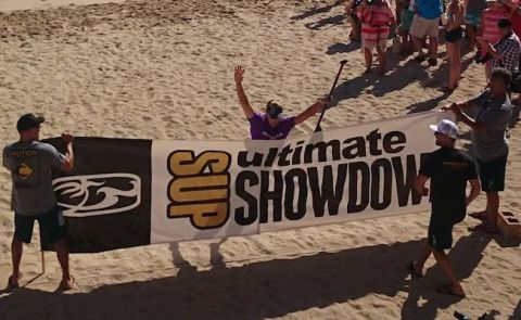 Baxter And Anderson Win Ultimate SUP Showdown