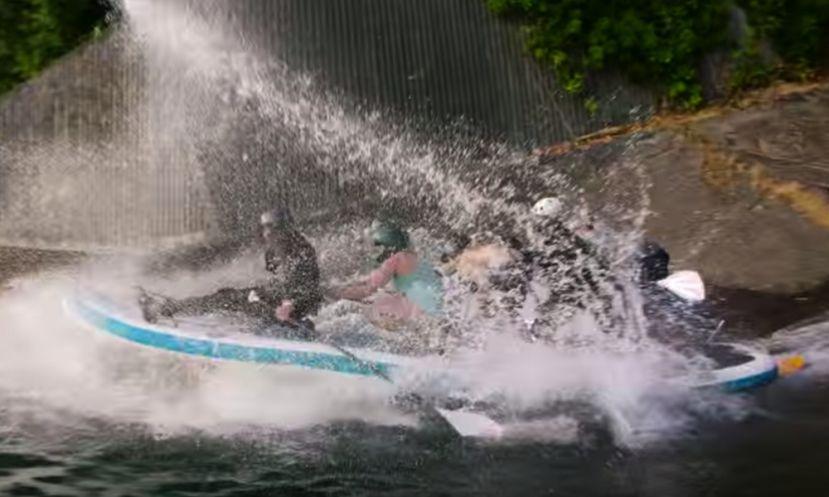 Urban Kayaking and Standup Paddling