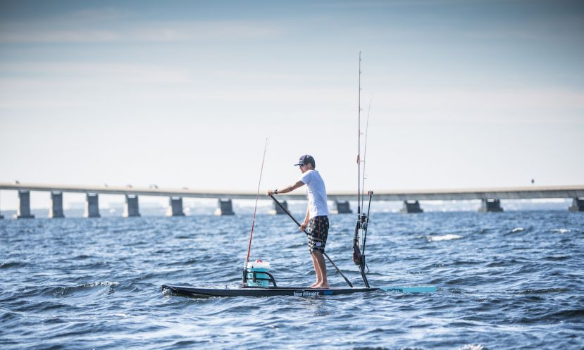 How To Take Fishing From The Dock To Your SUP