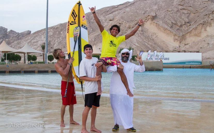 Kai Lenny Wins Abu Dhabi All Stars 2014