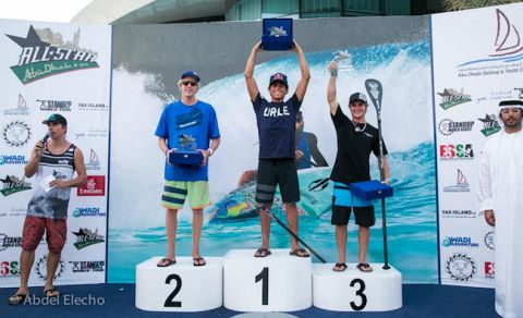 Naish's Kai Lenny Takes Grand Slam Title in Abu Dhabi