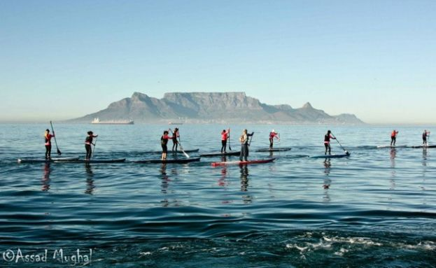 Paddle Boarding Cape Town, South Africa