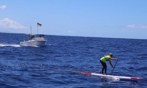 Germany's Sonni Honscheid on her way to winning her 2nd M2O in 2015. | Photo via: SIC Maui