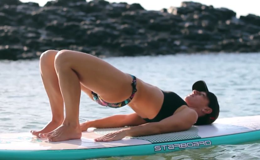 SUP Pilates Demonstration Video