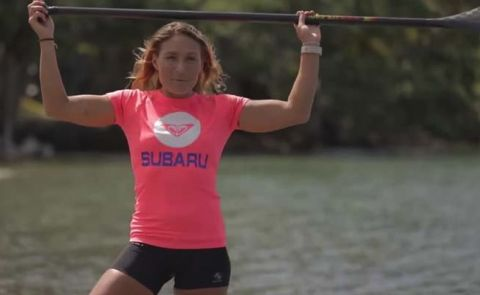 Learn How To Paddle With Annabel Anderson