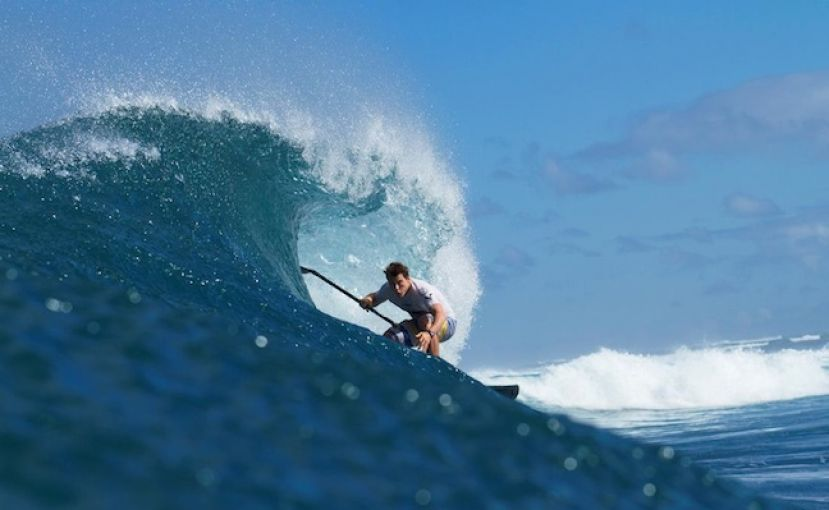 Photo via Stand Up World Tour and Stand Up World Series - SUP Surfer is Sean Poynter
