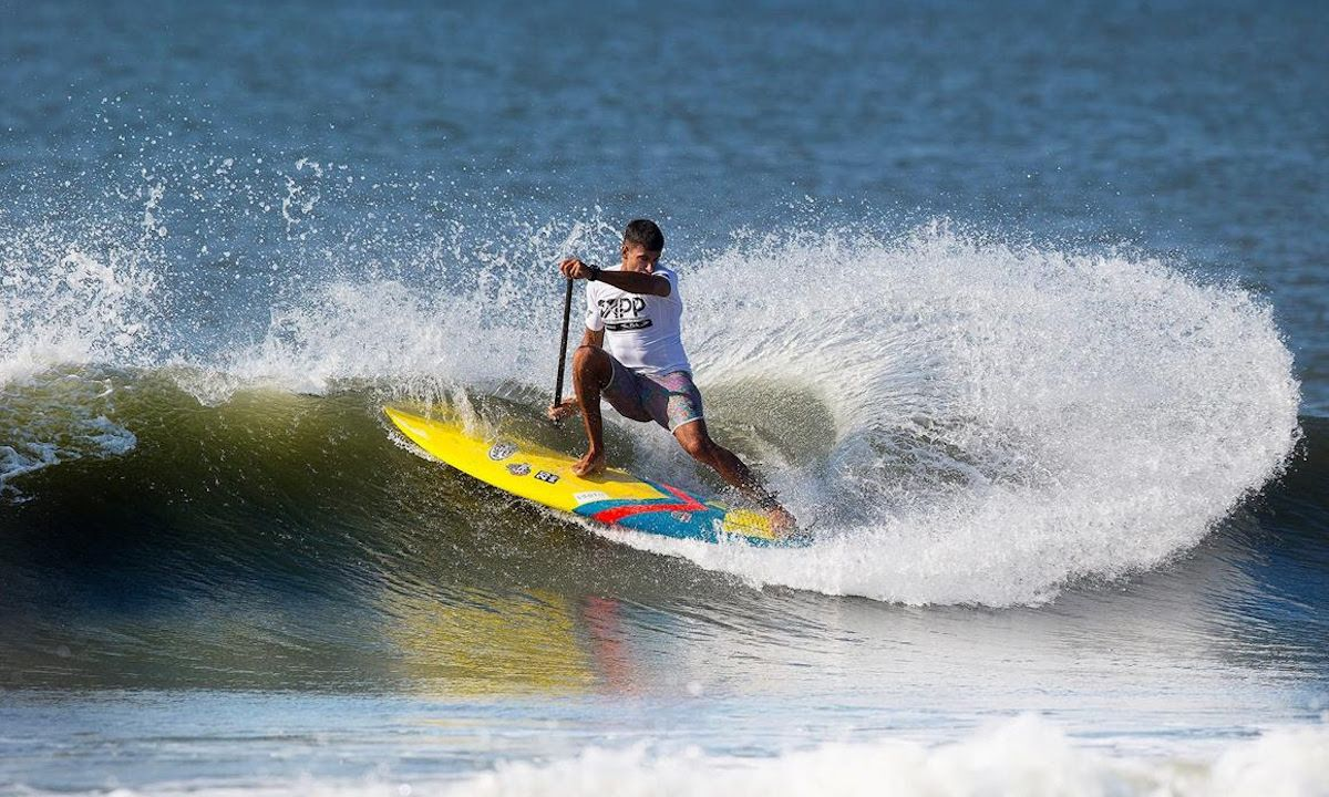 Clean performances on Day 1 of Surfing at the New York SUP Open. | Photo: John Carter / APP World Tour
