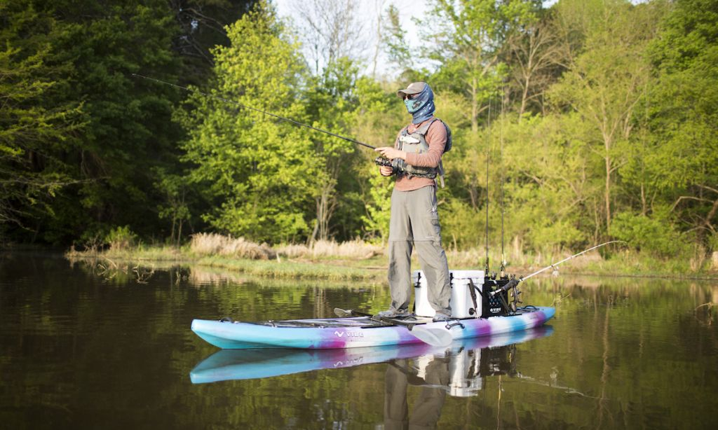 Co-Founder of Vibe Kayaks, Josh Thomas. | Photo Courtesy: Vibe Kayaks