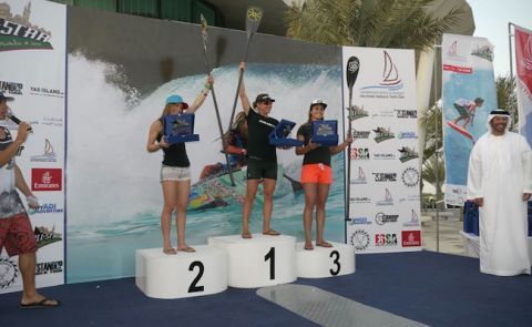 Lina Augaitis Wins Event In Abu Dhabi