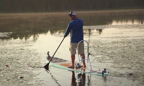 SUP Fishing Popularity Explodes