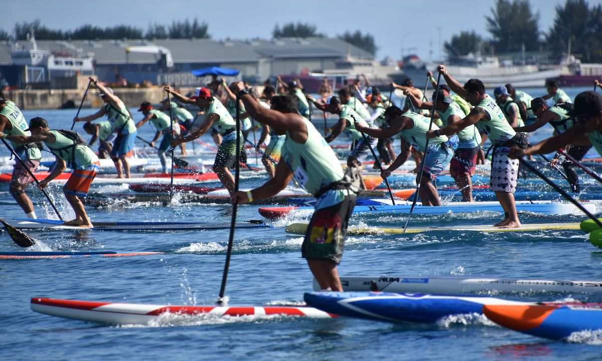 Photo courtesy: Air France Paddle Festival