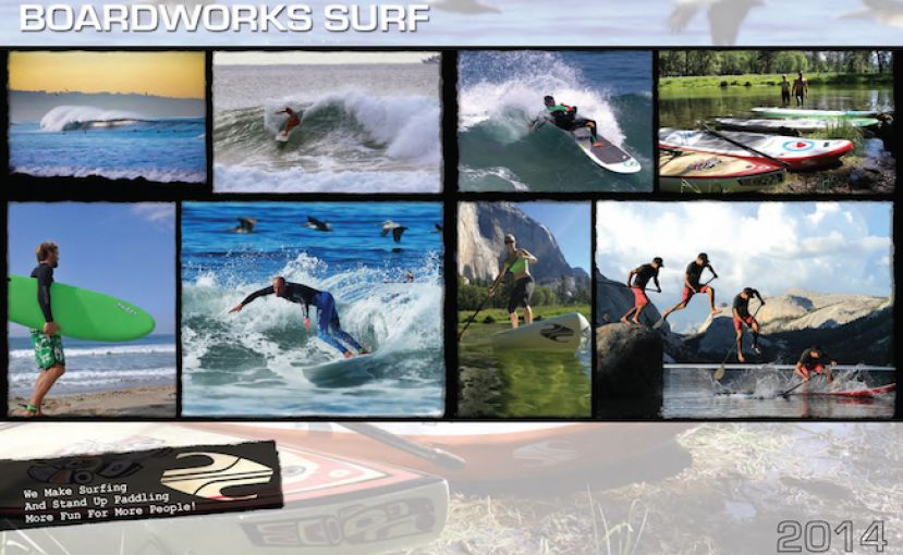 Boardworks Releases 2014 SUP and Surf Lineup