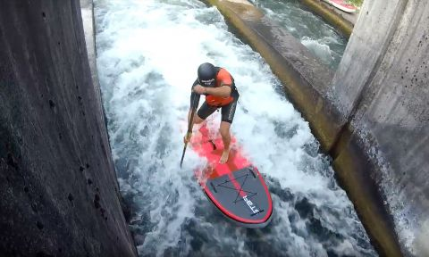 Stecher Twins Shred Whitewater Rapids In Germany