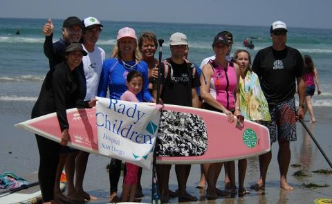 8 Yr Old Paddles 11.8 Miles for Children's Hospital