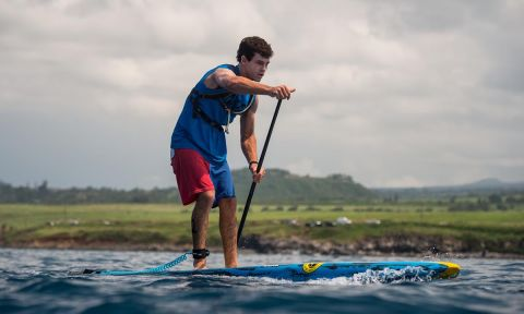 Mo Freitas on his way to an Overall victory at the Maui Pro-Am. | Photo Courtesy: APP World Tour