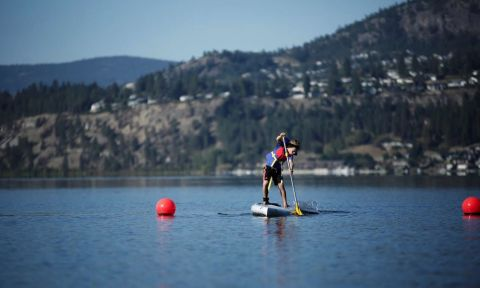 Pihl Law Paddle for Prevention is a new SUP event in Kelowna raising awareness and funds for brain cancer prevention.