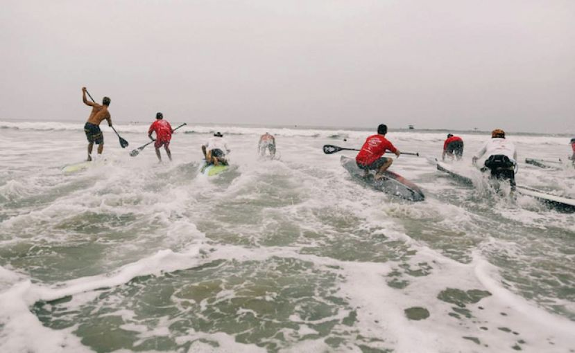Santa Monica Pier Paddle Race Returns In 2014