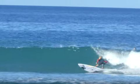 12-Year-Old Finn Spencer Rips At SUP Surfing