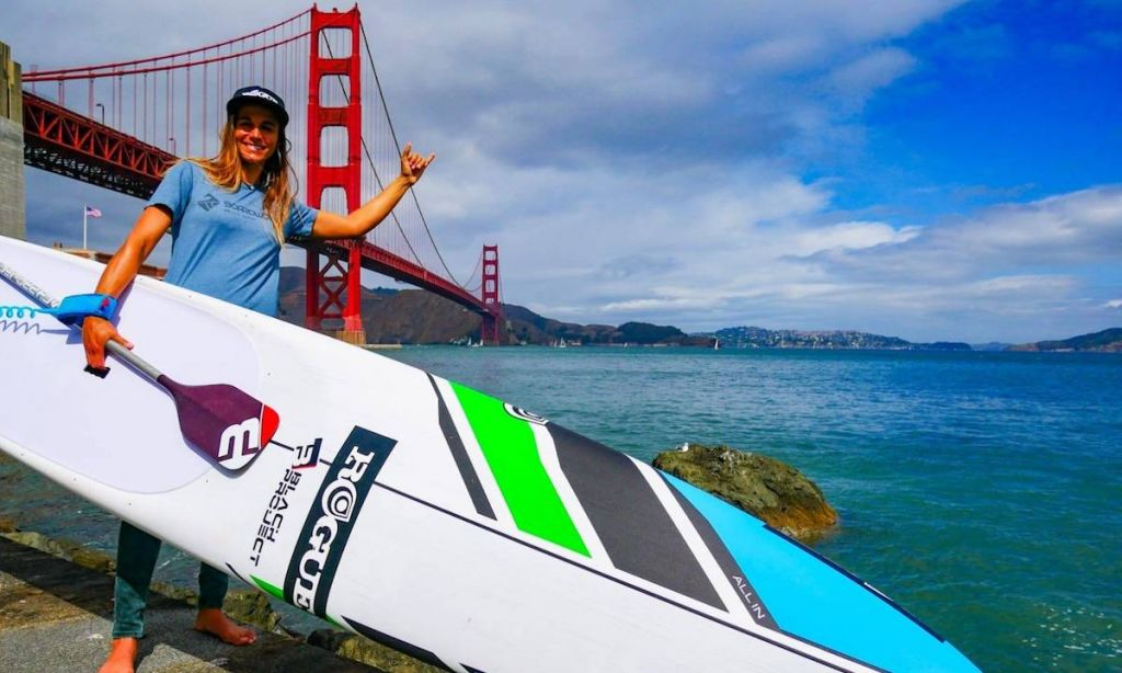 Olivia Piana joins team Boardworks/Rogue. Photo courtesy: Emilie Masson photography