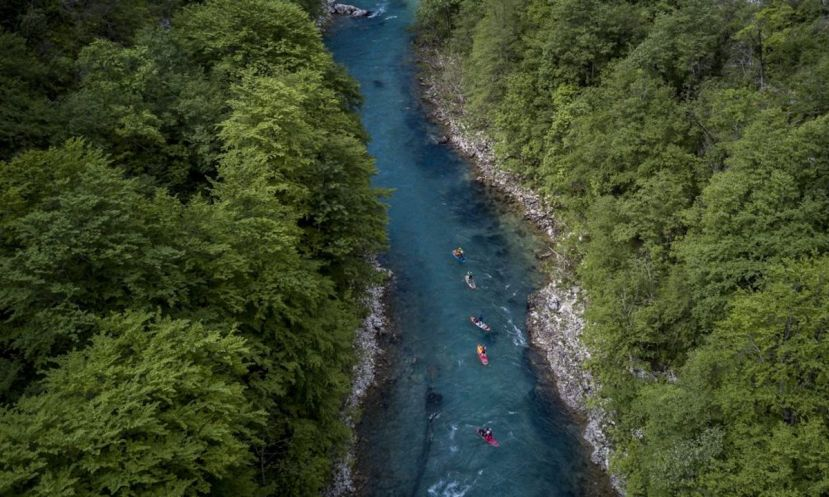 First SUP Descent Of Europe's Deepest Canyon