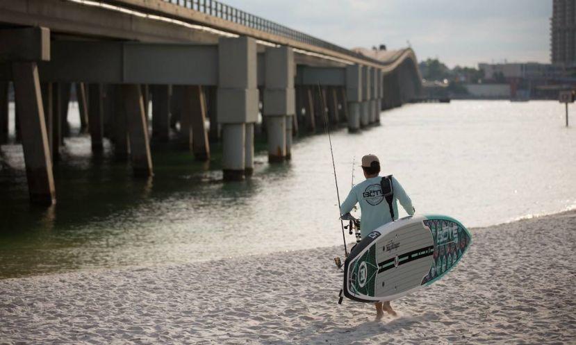 Hunter Harlow's 5 SUP Fishing Tips
