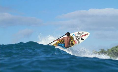 Sunset Beach Pro Gets Off at Turtle Bay