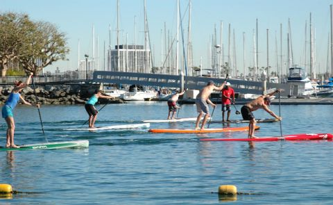 Pro SUP Shop presents a Performance Paddling Weekend