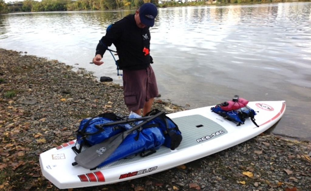 400 Mile Paddleboard Expedition Set For Connecticut