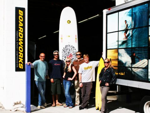 Boardworks on SUP TV Title Sponsorship