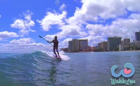 Organization Trying To Regulate SUP Surfing In Hawaii