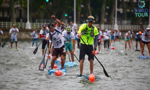 Connor Baxter Wins The 2016 Bilbao World SUP Challenge