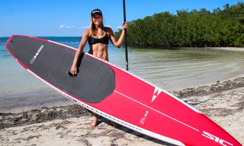 SIC Maui's Seychelle joins Paddle Monster Team as Paddle Coach: Photo courtesy: Seychelle