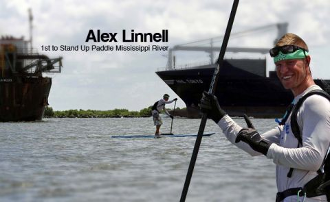 Alex Linnell - First to Stand Up Paddle the Mississippi