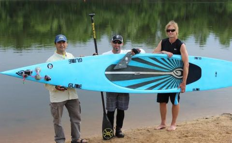 Glide SUP's Shane Perrin To Attempt New SUP Record
