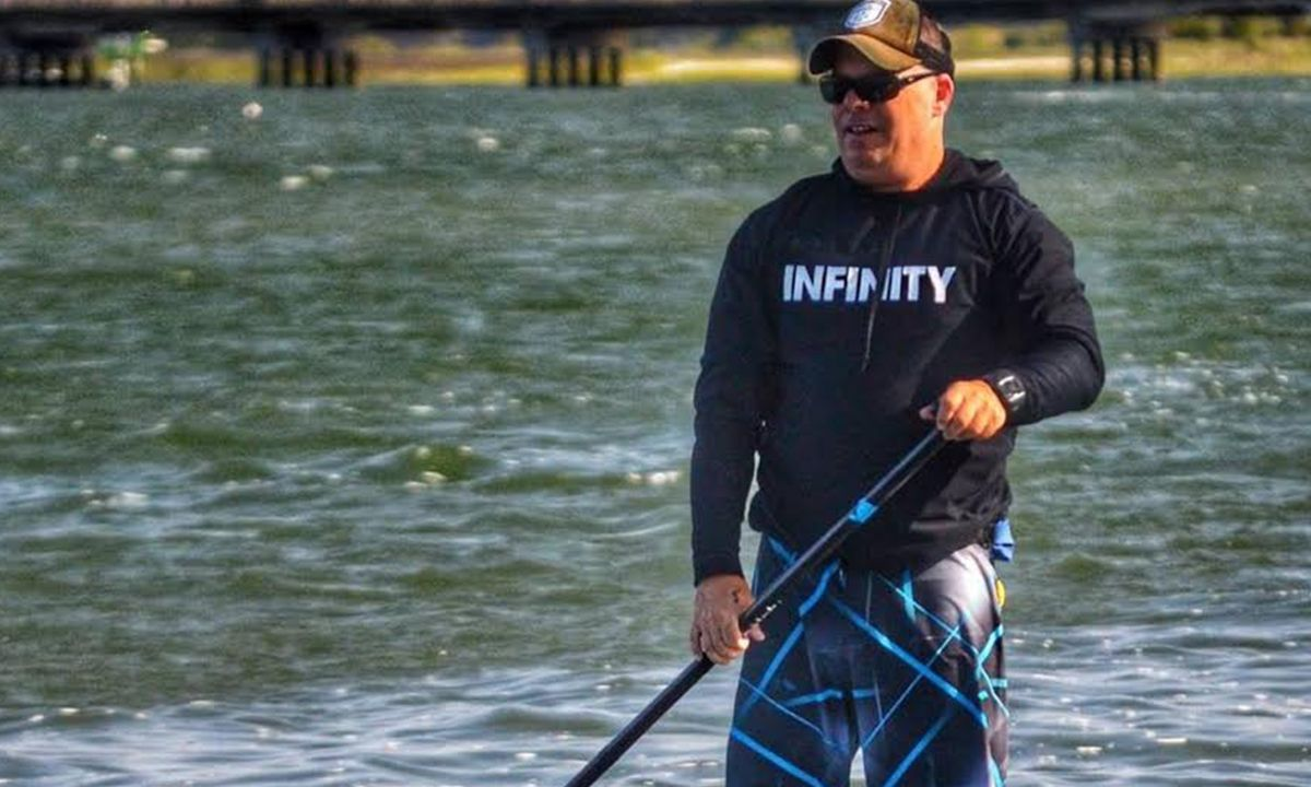 Brent Auckland. | Photo Courtesy: Infinity SUP