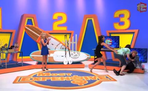 Price Is Right Contestant Gets Stoked On SUP