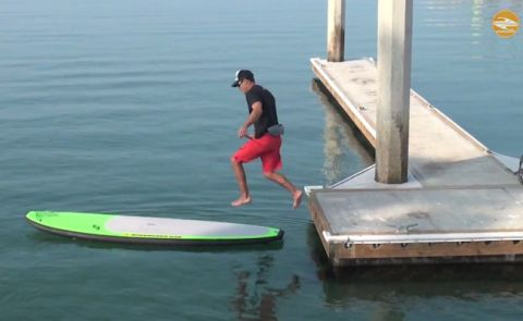 Mastering The SUP Jump Start With Mike T