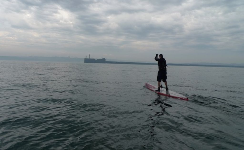 Australian Paddler Crosses English Channel On A SUP
