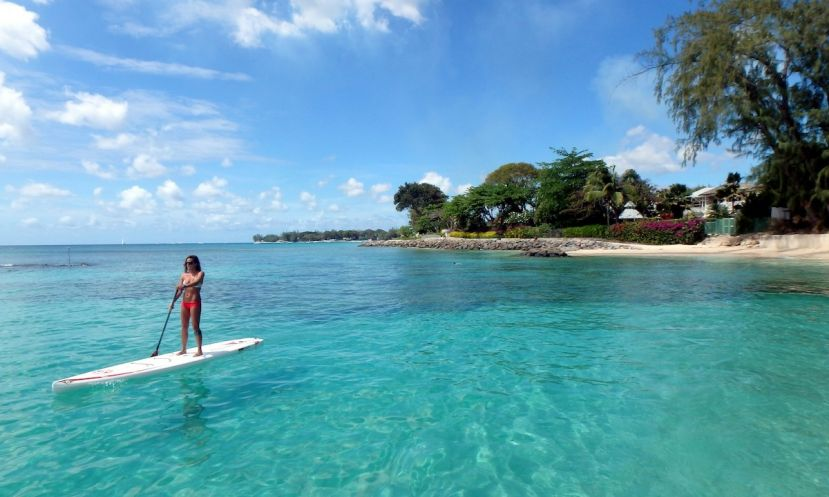 Paddle Boarding Barbados