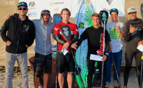 Sweitzer & Merrill Win USA SUP Tour Surfing Event 1