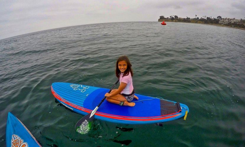 Starboard Stand Up Paddle Surfing demo day with SUPKids in Santa Barbara. | Photo: Jim Brewer