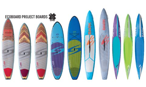 Surftech lineup with Ecoboard Project.