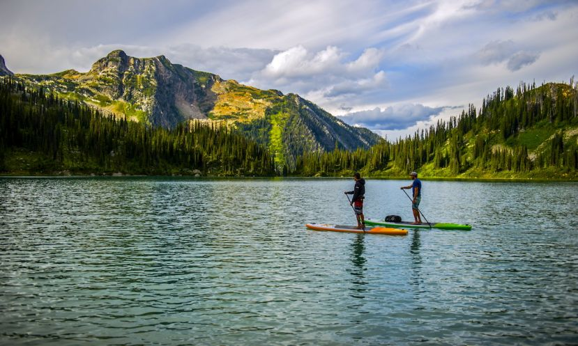 Helicopter SUP Expeditions in Canada