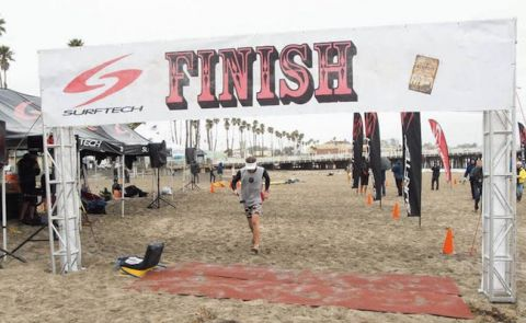 Trout & Hoesterey Win Surftech Shootout Distance Race