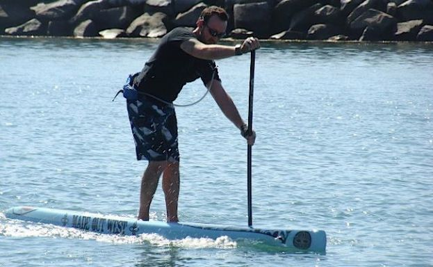 Schmidt to Stand Up Paddle Against Depression