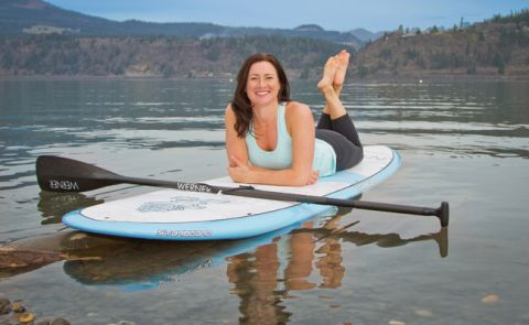 Nikki Gregg Launches Starboard SUP Fitness Model