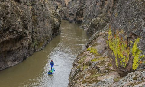 A view from above on the Owyhee river. | Photo: Paul Clark