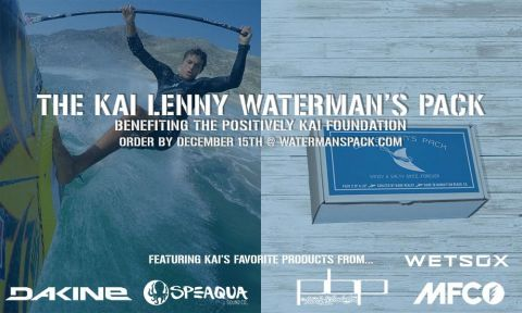 Kai Lenny Curating December Waterman's Pack