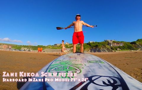 Zane Schweitzer's Basque Country SUP Surf Sessions