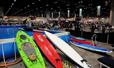 New Stand Up Paddle Gear at Surf Expo